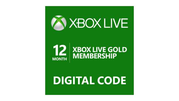 12 Months Xbox Live [Digital Code] EU/UK/US/PL